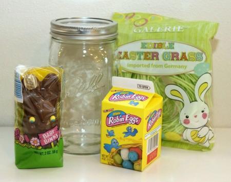 bunny in jar supplies