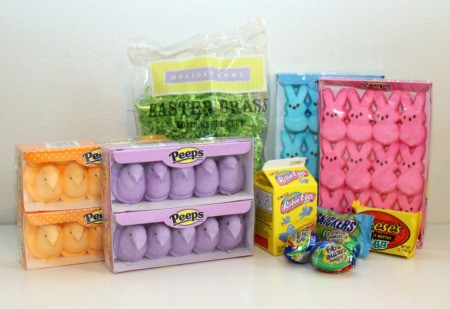 peeps basket supplies