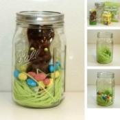 Chocolate Bunny in a Jar