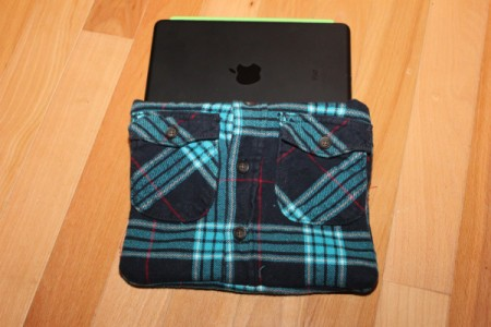 Pad in shirt case.