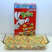 Trix Cereal Treats