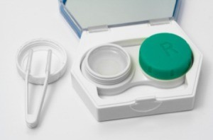 Cleaning Contact Lenses