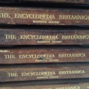 Stack of volumes.