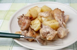 Ranch Potatoes and Chicken