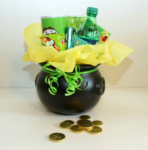 St Patricks Day Gift Basket Ideas Thriftyfun