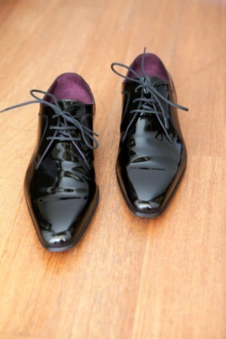 How to remove scuffs from patent leather heels