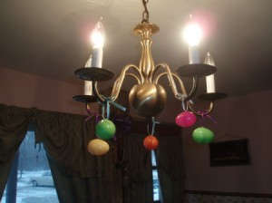 Hanging Easter Egg Decoration