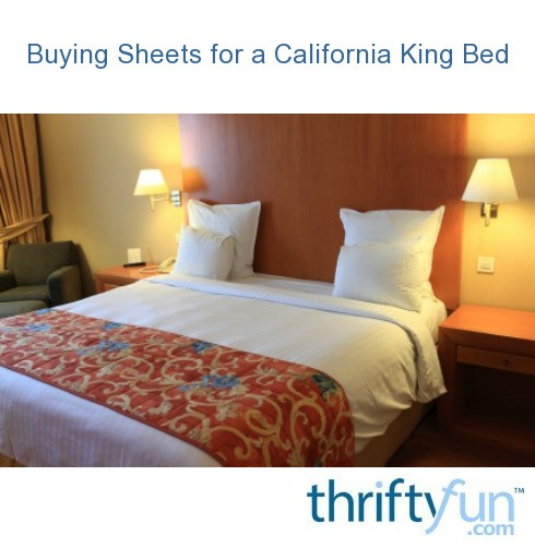 Buying Sheets for a California King Bed | ThriftyFun