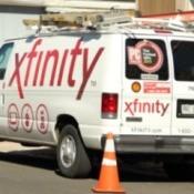 Comcast Xfinity Truck