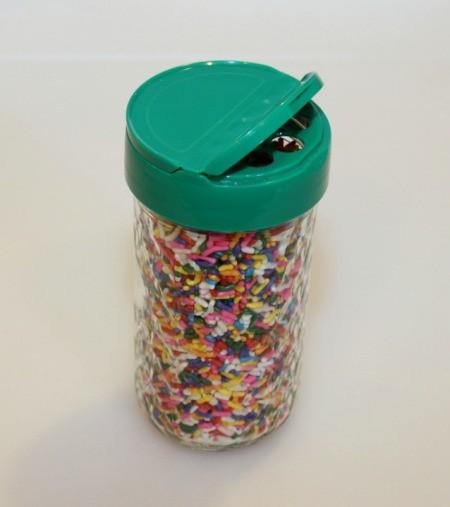 sprinkles in jar