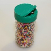 sprinkles in jar