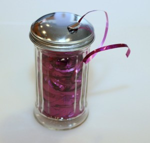 ribbon in jar