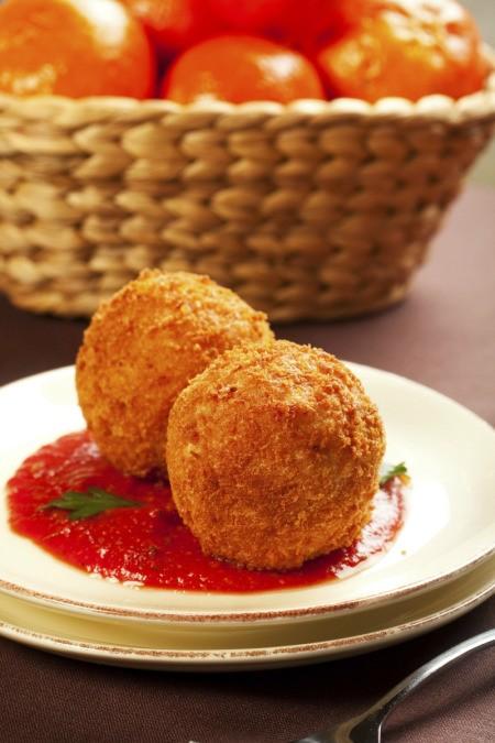 Italian Rice Ball or Arancini