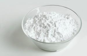 Powdered Sugar in Bowl