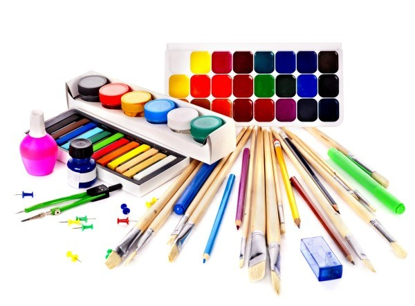 art supplies and coloring pages - photo#35