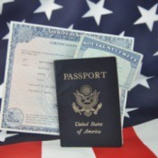 birth certificate, passport and social security card