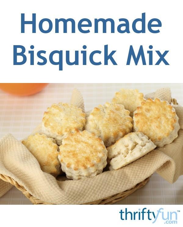 Homemade Bisquick Mix Recipes | ThriftyFun