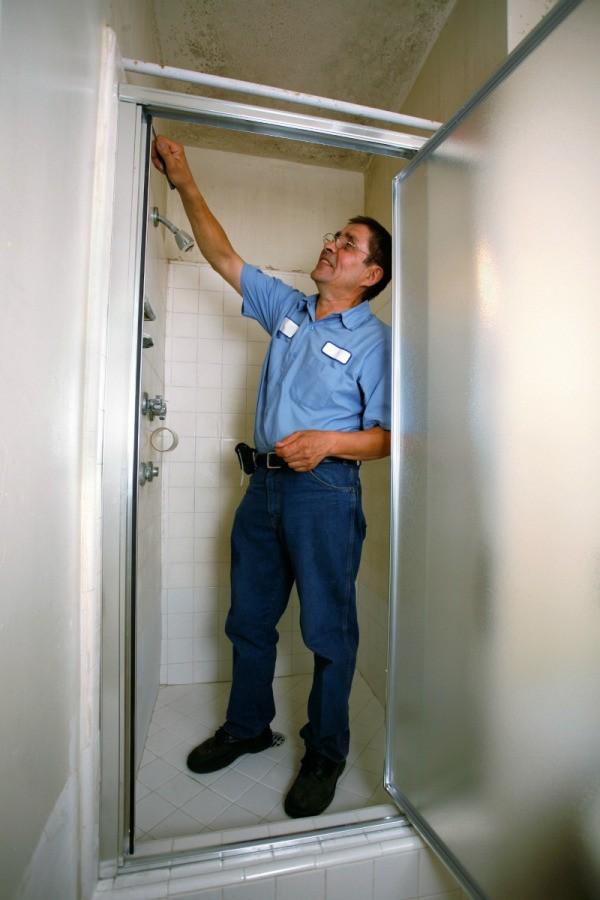 Fixing a Shower Door Latch