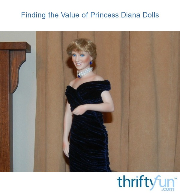 Finding the Value of Princess Diana Dolls   ThriftyFun