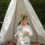 Backyard Tipi (Teepee)