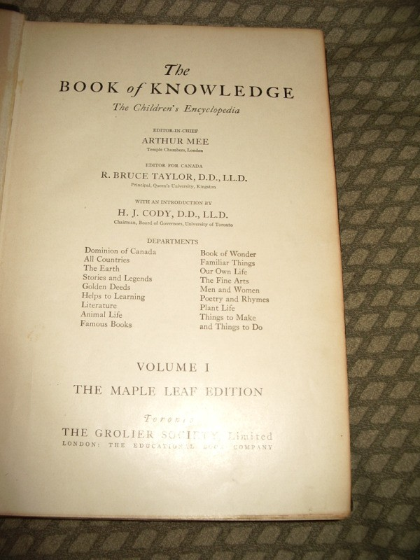 Finding The Value Of Grolier S Book Of Knowledge Encyclopedias