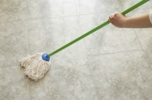 Removing Wax Buildup on Floors