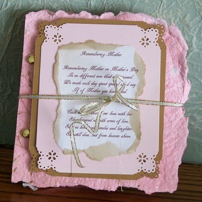 Mother's Day Card - Remembering Mother - poem