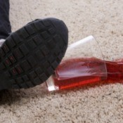 Drink Stain on Carpet