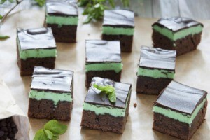 Mint Brownies