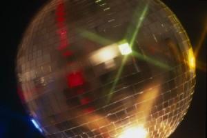 1970s disco ball