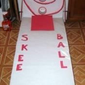 Valentine Skee Ball Game