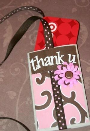 Gift Card Holder Crafts