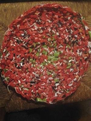 Dog Food Bag Rug