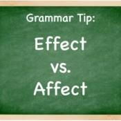 """""""Affect"""" vs """"Effect"""""""