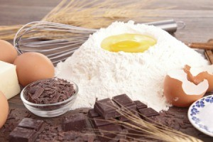 Ingredients with Egg