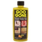 Goo Gone, cleaner used for removing price tags.
