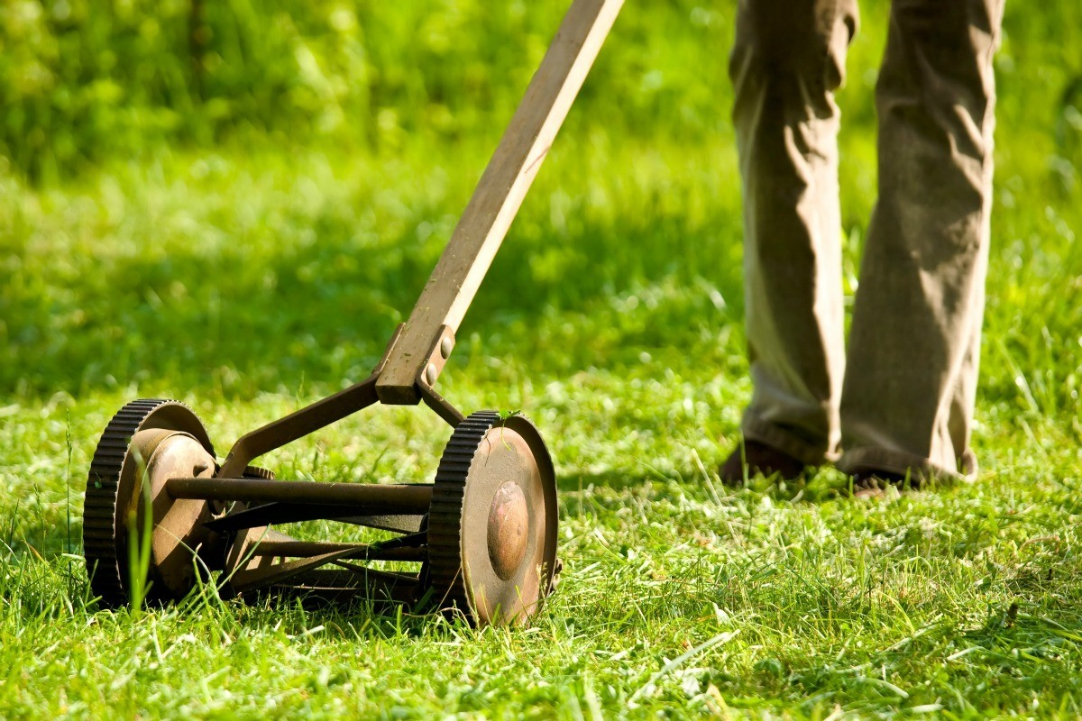Determining the Value of Old Reel Mowers   ThriftyFun