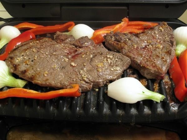 Steaks On George Foreman Grill