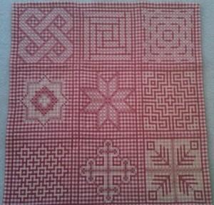 Complete quilt.