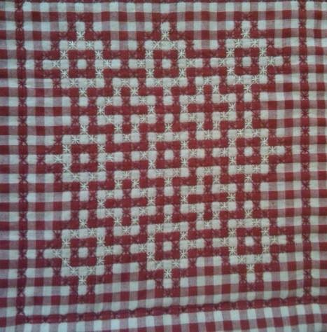 Making a Chicken Scratch Quilt | ThriftyFun : chicken scratch quilt - Adamdwight.com