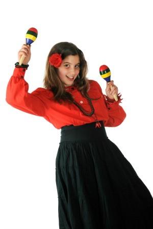 Woman Celebrating Cinco de Mayo