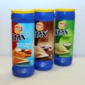 3 lays stax cans