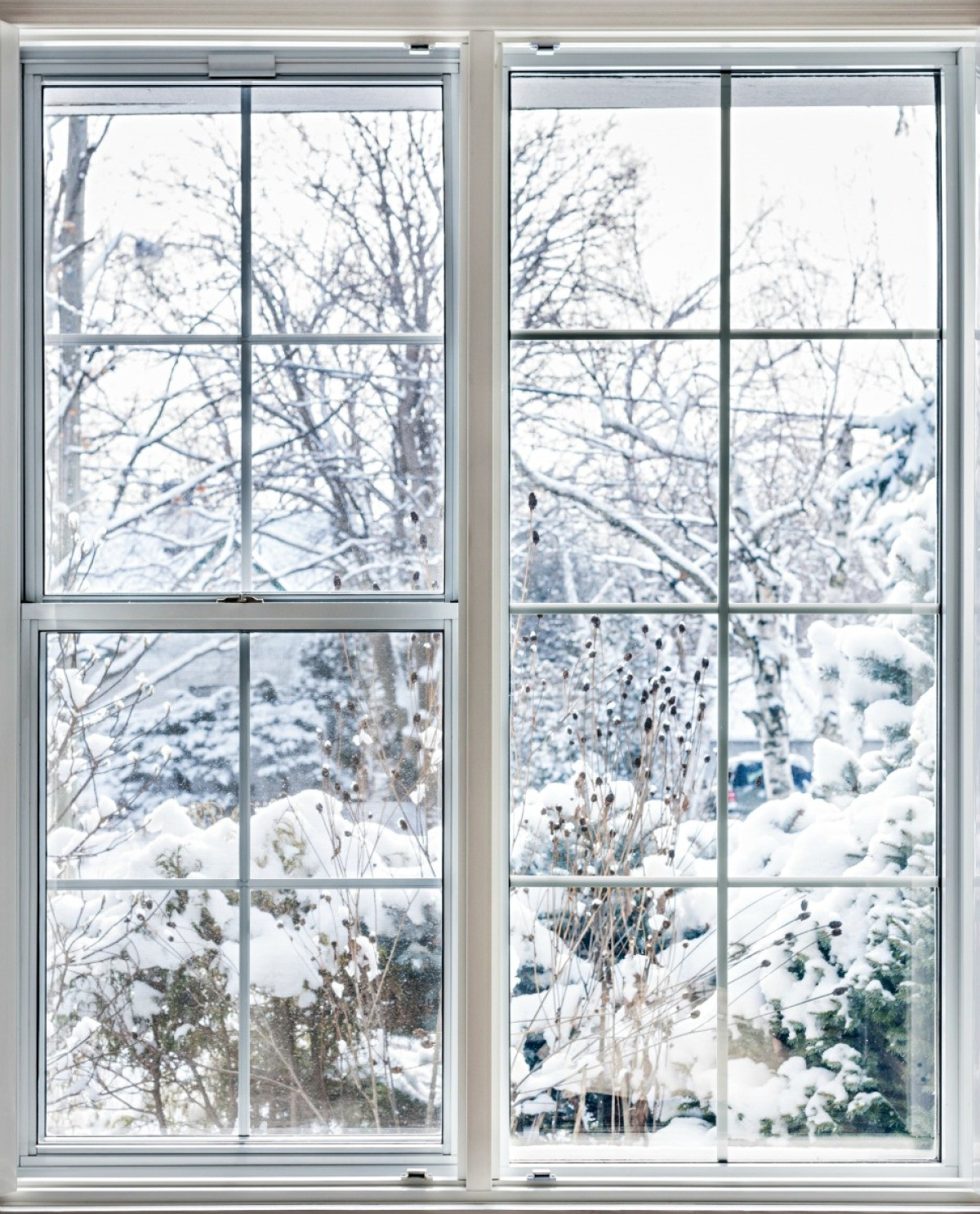 Insulated Winter Window
