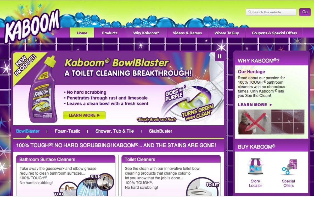 Kaboom Bathroom Cleaner Reviews Thriftyfun