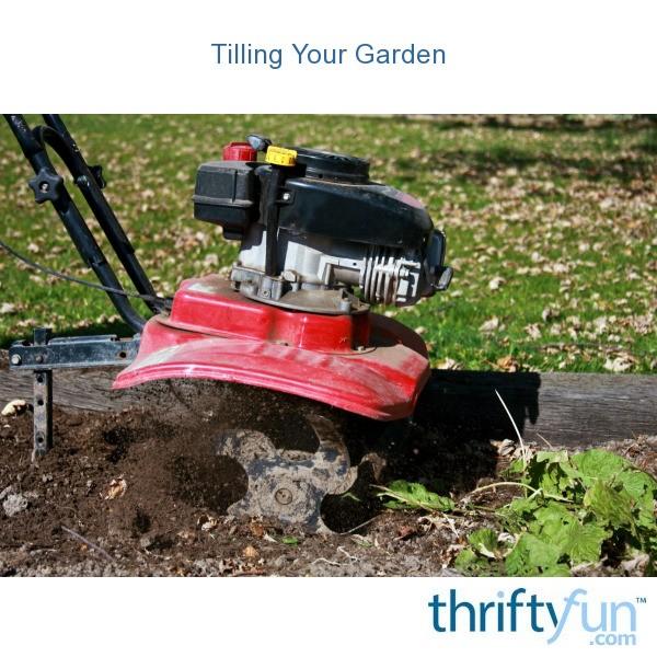 Tilling Backyard: Tilling Your Garden