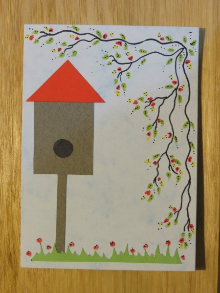 Add flowers to vine and grass plus added detail ot leaves.