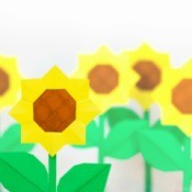 Sunflowers Craft