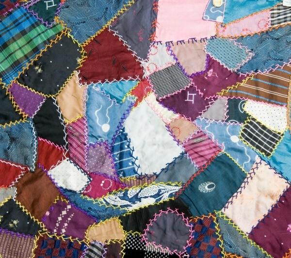 Scrap quilt ideas thriftyfun for Scrap quilt