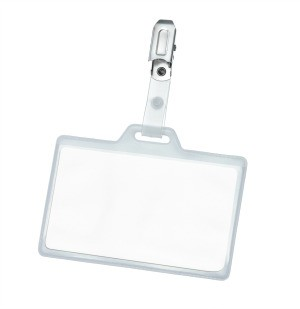 Vinyl Name Tag Holder