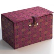 Fabric Covered Container